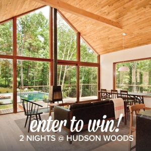 Win A Free 2 Night Stay At Hudson Woods