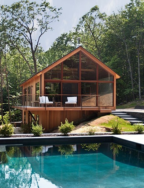 hudson woods where design meets nature architectural
